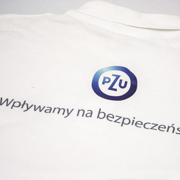 Koszulka polo z nadrukiem cyfrwym