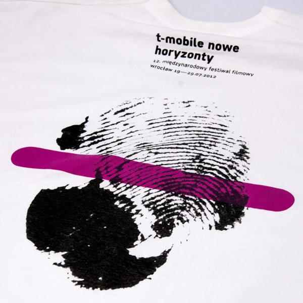 koszulka z nadrukiem 2 kolory -sitodruk