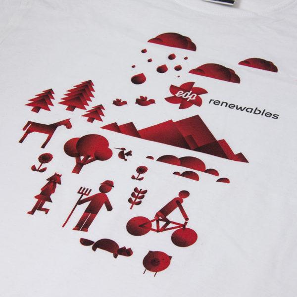Koszulka z nadrukiem - sitodruk