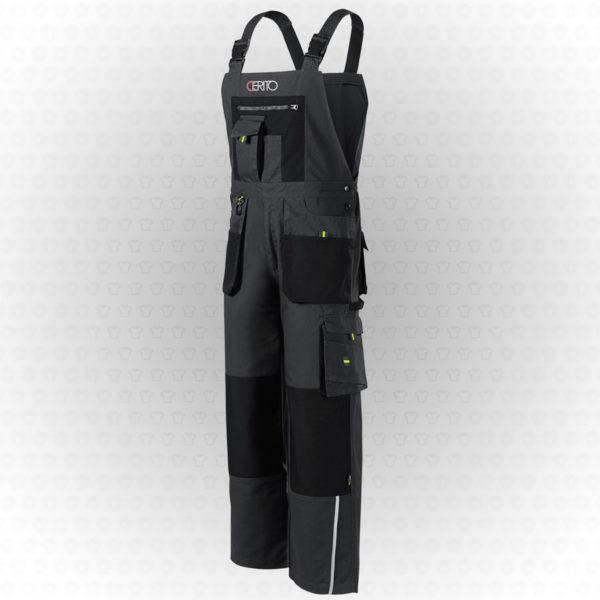 spodnie robocze z nadrukiem